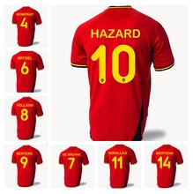 Belgium Jerseys Soccer 2014 World Cup Football Shirt Bruyne Vertonghen Belgian Fellaini Hazard Mirallas Mertens Dembele Lukaku(China (Mainland))