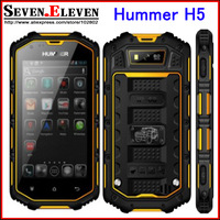 "2014 4.0"" Hummer H5 Smartphone android 4.2 Real Waterproof mobile phone 3G GPS Capacitive Screen IP68 WCDMA dustproof phone"