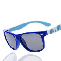 2014 New Fashion Children Baby Kids Student Boy Girls Anti-UV 400 Sunglasses TR90+Silicone Polarizer Cool Protection Sun Glasses