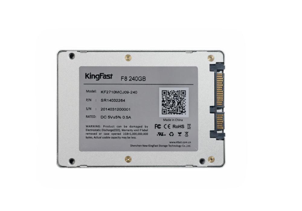 Внутренний твердотельный диск (SSD) F8 240 KingFast 2,5 SATA SSD Lenovo Dell ASUS Acer Thinkpad Sony /hp KF2710MCJ09-240 ssd dell 400 aqnv