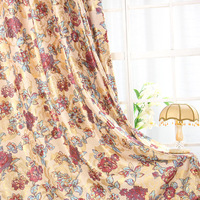 Luxury Window Curtain For living Room/ Bedroom Blackout Curtains For Hotel Window  Drape/ Panels/Treatment