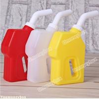 Promotion Top quality Hot sale 3PCS Practical Food Safe Plastic Oil Gun Design Condiment Sauce Bottles Gravy Boats