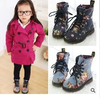 2014 весна и осень девочка металл прохладный ботинки девушка принцесса небольшой ботинки тенденция дети туфли