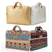 New  Canvas Notebook Handbag Laptop Carrying Pouch Sleeve Case 12 13 14 15 inch Bohemian Laptop Bag  Notebook Case