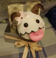 Free shipping 2014 Hot sales! LOL High quality lol  Poro 15*13 cm Plush dolls /Toy for children