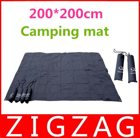 New 2014 Camping mattress 200*200 Oxford Camping Mat Waterproof High Quality Beach Mat Travel Cooking Picnic Mat Sleeping Pad(China (Mainland))