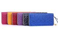 Wallet Women Clutch Purse Leather PU Hangbag Fashion Mini bag zip + FREE GIFT