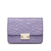 New Mini Classic Flap Chain Genuine Leather Shoulder Bag Embroidered Camellia Flower Messenger Bag Packet Lambskin Women Handbag