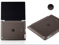 Fashion Design Magnetic Smart Cover +Crystal Hard Back for Apple ipad 4 3 2 for ipad 4 ipad 3 ipad 2 Case