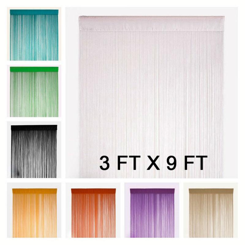 9 ft curtain rod