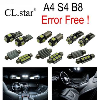 17 шт. X canbus ошибок для Audi A4 B8 S4 из светодиодов внутреннее освещение комплект ...