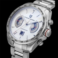 Hot men's top brand luxury Racing Chronograph waterproof watch multifunction watch free shipping