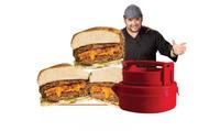 2014 Hamburger Burger Maker Press STUFZ BBQ ferramentas barbecue novelty households Kitchen cooking tools Free Shipping G032