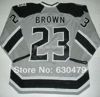 Cheap stitched 2014 NHL  Stadium Series /Los Angeles Kings LA Kings #23 Dustin Brown   ice hockey jersey/shirt/sportswear