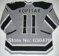 Cheap stitched 2014 NHL  Stadium Series /Los Angeles Kings LA Kings 11 Anze Kopitar  ice hockey jersey/shirt/sportswear