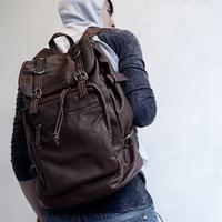 Vintage leather bag student school bag backpack female backpack men travel bag fashion 2014 male 48*33*18cm TP1