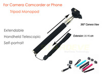 For 11.11 Super Deal Camera monopod Tripod Mount accessories support G8800 G8900 Gopro Hero 3+ 3 2 1 SJ4000 SJCAM Phone