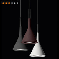Free shipping Aplomb vintage industrial style cement like pendant light bar light