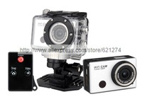 Best G386 GoPro Hero 3 Sport WiFi Camera Support Control By Phone Tablet PC 1080P Full HD 40m waterproof Copy style Sportscam DV