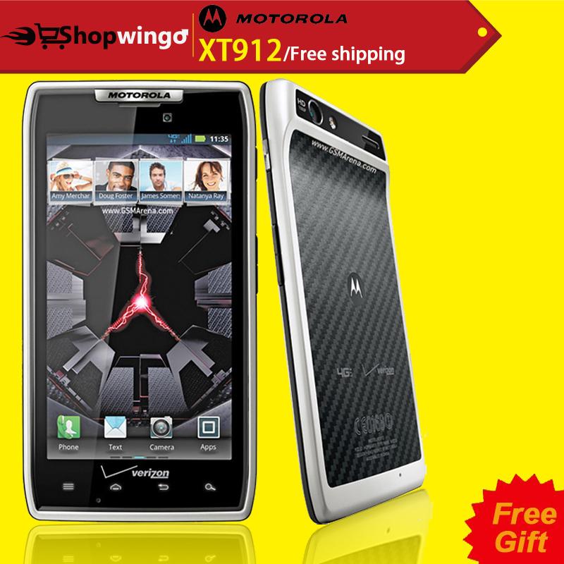 "4.3"" Original XT912 / XT912 MAXX Motorola Phone Dual Core ROM 16GB Camera 8.0MP Bluetooth 4.0 Unlocked RAZR XT912 Mobile Phone(China (Mainland))"