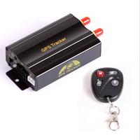 TK103B Vehicle GPS tracker Remote Control Portoguese Manual OK Quad band SD card GPS 103 crawler PC&web-based GPS racking system