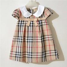Children's clothing  child summer one-piece dress summer female child short-sleeve baby girl princess dress(China (Mainland))