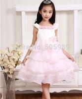 Flower girl dress for Girls Wedding Party Dresses child princess dresses  New Free Shipping