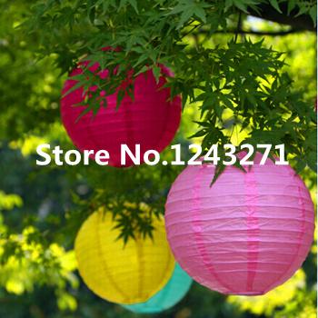 """Versandkostenfrei 12pcs/lot 8""""( 20cm) chinesischen lampion Haus und party dekoration hochzeit dekoration 16 farben hochzeit laterne"""