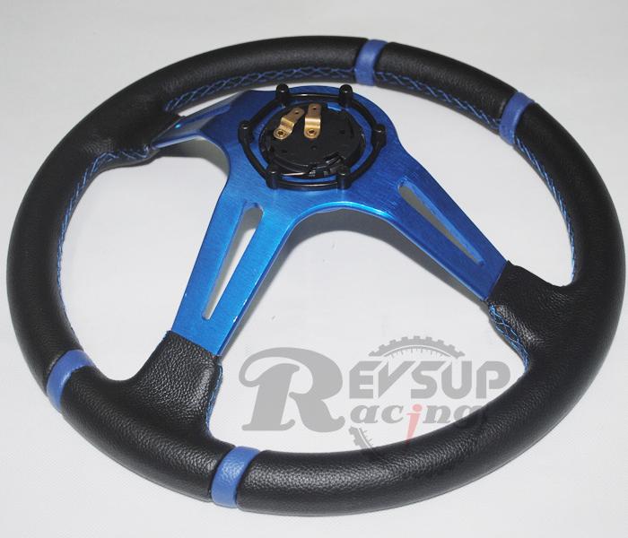 Blue Steering Wheel Steering Wheel Momo Blue
