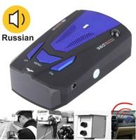 2014 New V7 Car Detector High Performance 360 Degrees Car Speed Testing System LCD Display Radar Laser Detector Russian /English