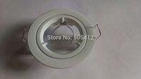 spotlight fitting GU10 holder downlight fittings nice white apperance High quality Aluminum free shipping