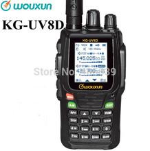 2014 new version wouxun walkie talkie KG-UV8D DUAL BAND transceiver VHF136-174&UHF:400-480MHz two way radio