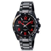 Analog Quartz  watch  Sports Watches Tungsten Steel  military watches  jewelry New 2014 CURREN wristwatch 2014 fashion  hot sell