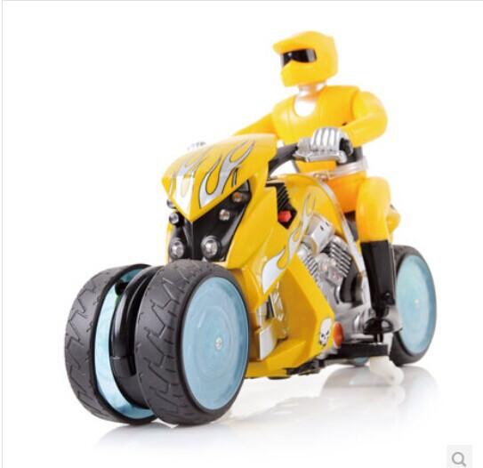 Toy motorcycle remote control car remote control stunt car forcedair drift car rotating remote control car(China (Mainland))
