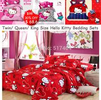hello kitty king size bedding,500TC Cotton bedding sets without filler,cotton king size hello kitty bedspreads,hello kitty skirt