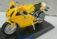 Genuine Meritor Figure 1:18 DUCATI 749s motorcycle model alloy car models