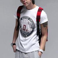 free shipping men's fashion summer dress , short sleeve o-neck t-shirt for men , man cool t shirt 11