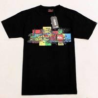 Wholesale New Mens T Shirts Fashion 2014 Clothing 100% Cotton Short Sleeve Brand tshirt Surf 3 Color Q1633