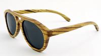 Fashion sunglasses Bamboo made sunglasses purely hand made polarIzed  Wayfarer b061