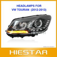 Eye Angle Auto Car Headlight For VW Touran VolkSWANGEN with teardrops ccfl 12 13