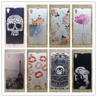 Brand New   Multi species Eiffiel Towel Painting Hard Plastic Phone Case Cover For sony_xperia z1Honami l39h +screen protector