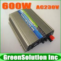 Quality 600W Grid Tie Inverter for 18v solar panel,DC10.5~28V to AC180~260V Pure sine wave Power Inverter Built-in MPPT Function