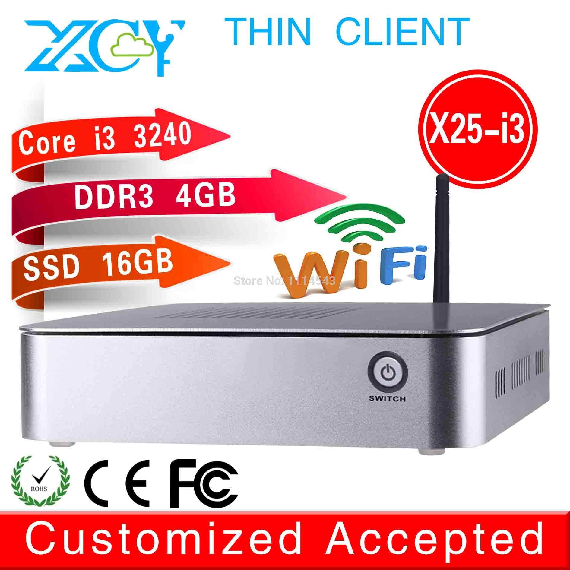 XCY core i3 3240/320 mini pc 4G RAM 16g ssd 3.2GHz thin client with 4*USB2.0 HDMI+VGA(China (Mainland))