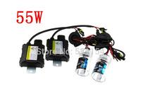 Hid xenon kit 12V  DC  55w ballasts single beam Auto headlight car lamp White H1 H3 H7 H11 H13 4300k 6000k 8000k,10000k,12000k