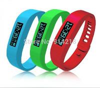 Gift! free ship intelligent motion healthy Bluetooth pedometer wristbands Waterproof Wrist Band Smart bracelet Wearable Tracker