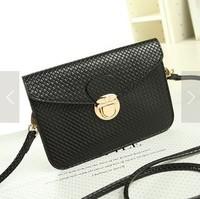 Free shipping New 2014 PU Purse Bag, Messenger Bag,Lady Envelope Clutches Tot, shoulder bags Women Handbag Hot Style top selling