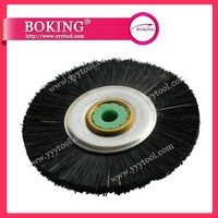 Hot Sale Chungking Bristle Brush wheels with Iron Center 48mm FREE SHIPPING 50pcs/pack  jewelry making tools polishing brush