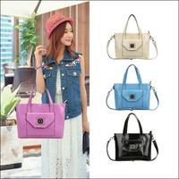 High Quality New 2014 Fashion Real Genuine Leather Women Handbag Messenger Bags Lady Tote Shoulder Bag NO1637 Freeshipping