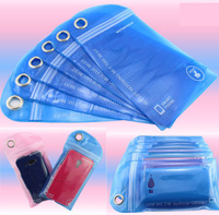 10pcs/lot Universal Water Resistance Daily Waterproof Bag Case , Ziplock Baggies , Retial package for Iphone 5 / Smart Phone