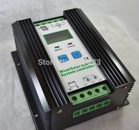 Intelligent 1000W PWM Wind Solar Hybrid Charge Controller,24V/12V Auto,(400w wind+600w solar),LCD Display,Intelligent Control